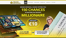 Grand Mondial Online Casino Website Image