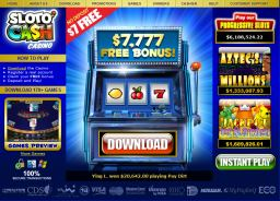 SlotoCash Casino Website Image
