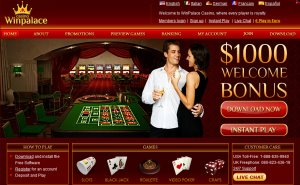 WinPalace Casino Website