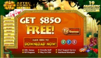 #5 Online Casino - Aztec Riches Casino Graphic