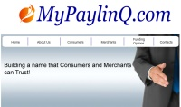MyPayLinq Website Screenshot