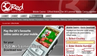 32Red Mobile Casino Screenshot