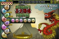 Instant Win Game Dragons Fortune Graphic
