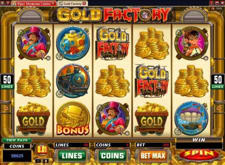 Gold Factory Video Slot Review Image