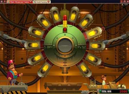 Gold Factory Bonus Round 2 Screenshot