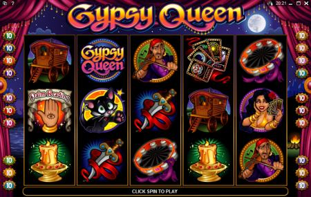 Gypsy Queen Slots Review Image