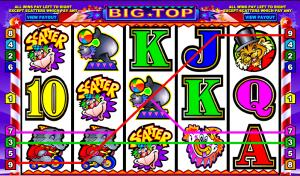 Big Top Online Nickel Slot Machine