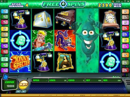 Johnny Specter Slots Review Image