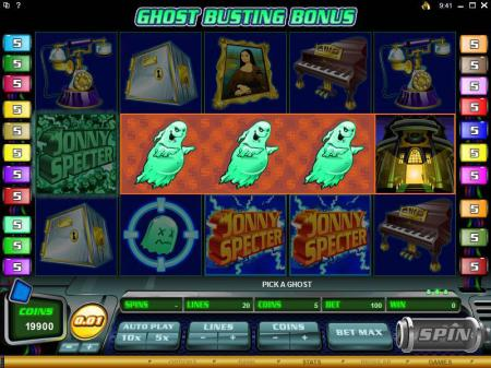Johnny Specter Slots Bonus Spins Graphic