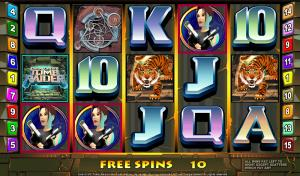 Tomb Raider Online Nickel Slot Graphic