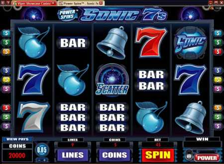 Sonic 7s Slot Review Image