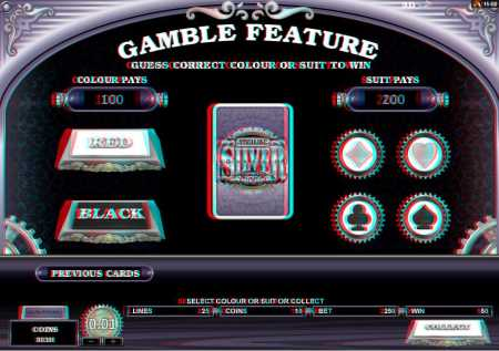 Sterling Silver 3D Gamble Feature